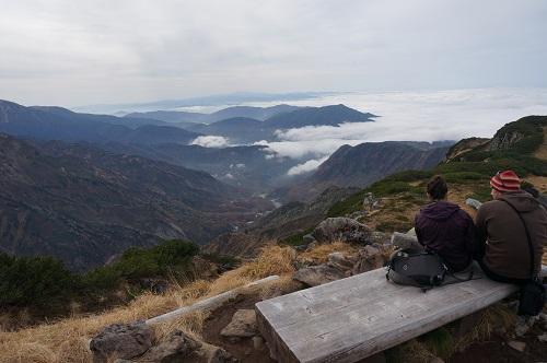 室堂山展望台