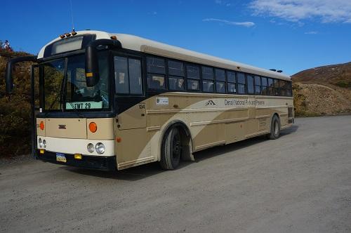 デナリのツアーバス