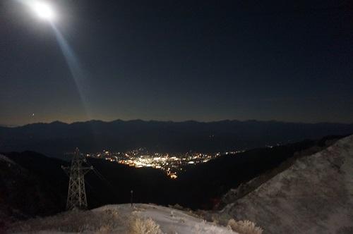 千畳式カール夜景
