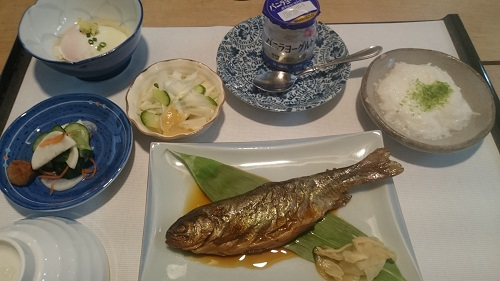 手白澤温泉朝食