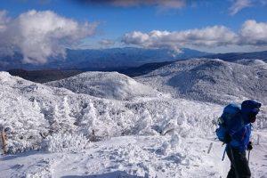 北横岳雪山