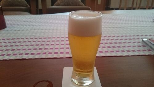 お風呂後のビール