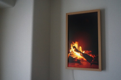 アトモフ 暖炉