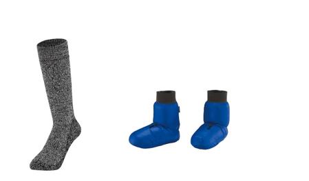 モンベルの厳冬期用靴下