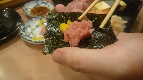 上野寿司幸のネギトロ