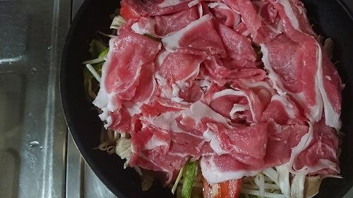 豚しゃぶサラダ作り方