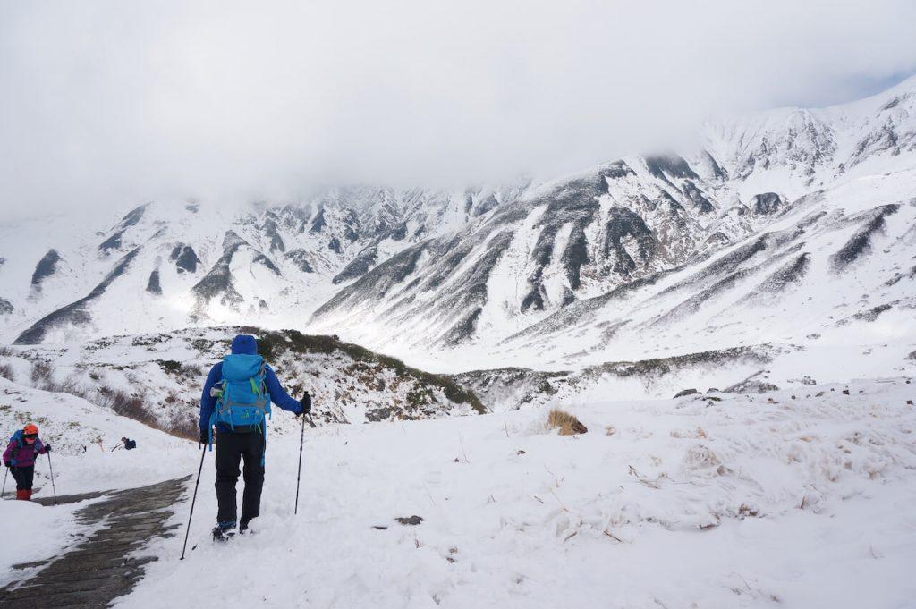 冬の立山・装備や景色など