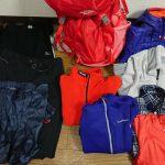 雪山装備、夏山の装備を流用