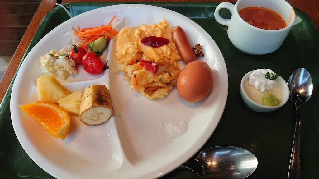 三井ガーデンホテル仙台の朝バイキング