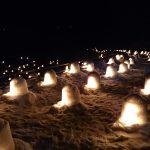 湯西川温泉のかまくら祭防寒